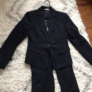 Ann Taylor navy suit (pants and blazer)